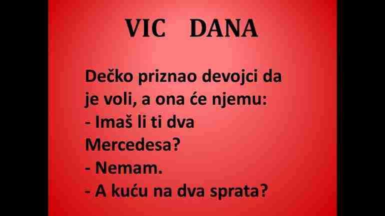 VIC DANA: Sve za ljubav