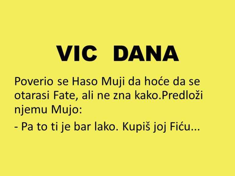 VIC DANA: Mujo savetuje Hasu kako da se oslobodi Fate