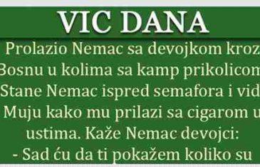 VIC DANA: Prolazio Nijemac sa djevojkom kroz Bosnu
