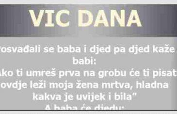 VIC DANA: Poruka na grobu