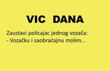 VIC DANA: Redovna kontrola
