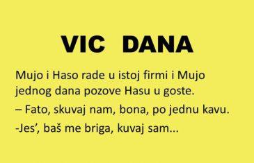 VIC DANA: Haso zavodi red u kući