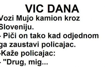 VIC DANA: Vozi Mujo kamion kroz Sloveniju…