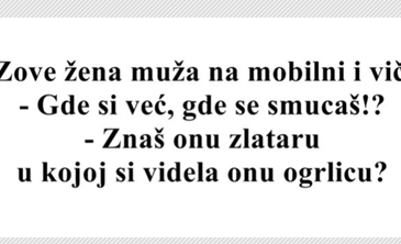 VIC DANA: Zove žena muža na mobilni