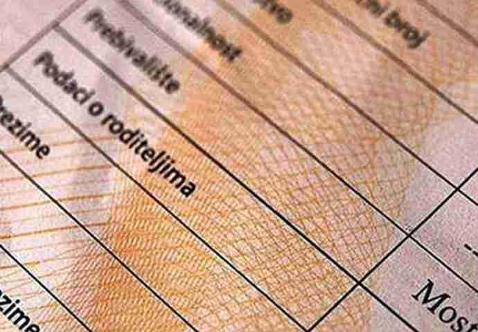 Odluka o novim cijenama uvjerenja, izvoda, vjenčanog lista