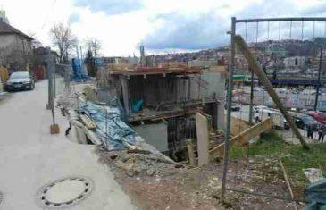 Aktivirano klizište u Sarajevu, na terenu Civilna zaštita i policija: Građani strahuju za sigurnost svojih porodica
