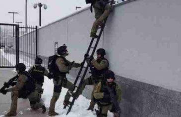 Nevjerovatne scene u glavnom gradu: Do zuba naoružana policija okupirala Ambasadu SAD-a u Sarajevu!