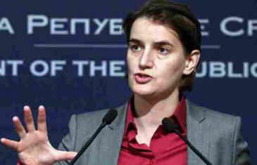 Premijerka Srbije bijesna nakon haosa na Kosovu: Zaustavite ludačku politiku Kurtija, na ivici smo…