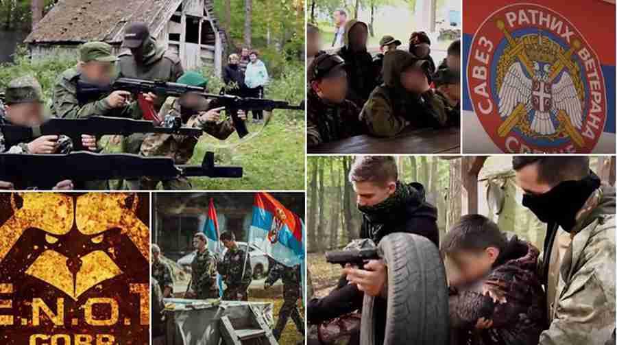 RATNE IGRE TINEJDŽERA IZ SRBIJE: Roditelji ih poslali u kamp u Rusiji gdje su učili da pucaju iz snajpera