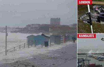 DIJELOVE EVROPE POGODILO VELIKO NEVRIJEME: Ledene lopte padale u Beogradu, snijeg i snažni vjetrovi u Francuskoj i…