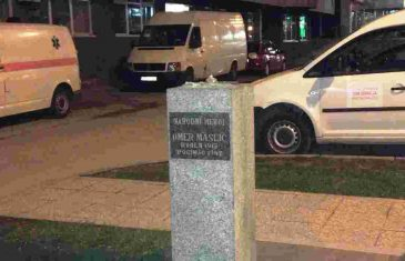 Pronađena ukradena bista Omera Maslića, počinitelji mislili da je Slobodan Milošević