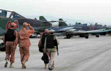 BRITANSKI MEDIJI JAVLJAJU: Asad se sklonio u rusku bazu, okolo lete avioni SAD-a!
