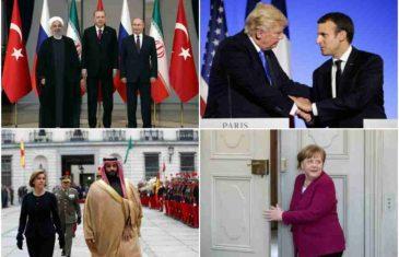 OVO SU MOGUĆI RATNI SAVEZI: Ako se zarati, evo ko bi stao uz SAD, a ko bi podržao Rusiju