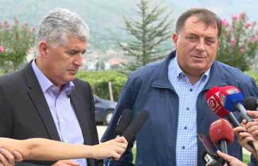 PUKLA TIKVA; ČOVIĆ ZADAO BOLAN UDARAC DODIKU: Hrvati blokirali opasne namjere, pozvali se na VITALNI NACIONALNI INTERES…