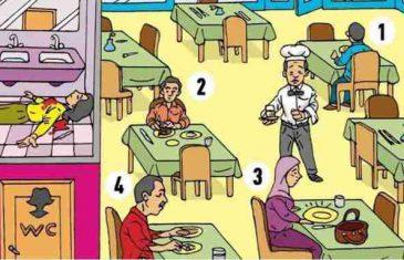 MOZGALICA ZA PRONICLJIVE: Među ovih četvoro ljudi krije se UBICA, možete li da ga pronađete?