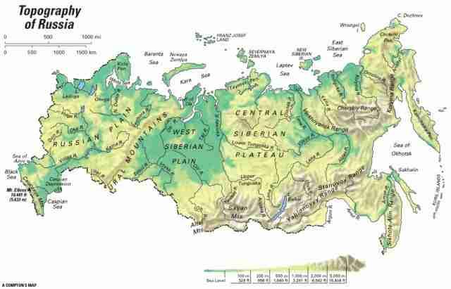 Rusija Mapa 640x411 Compressed Sarajevograd Org Informativno
