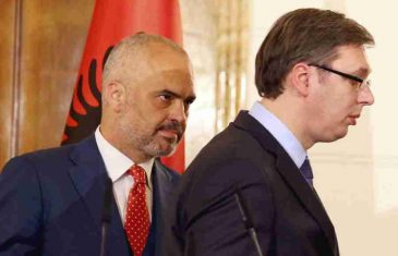 "ŠOKANTAN NASLOV VUČIĆEVOG INFORMERA: ""Rama spreman da povuče priznanje Kosova, ZBOG JAČANJA ALBANSKO-SRPSKOG BRATSTVA"""