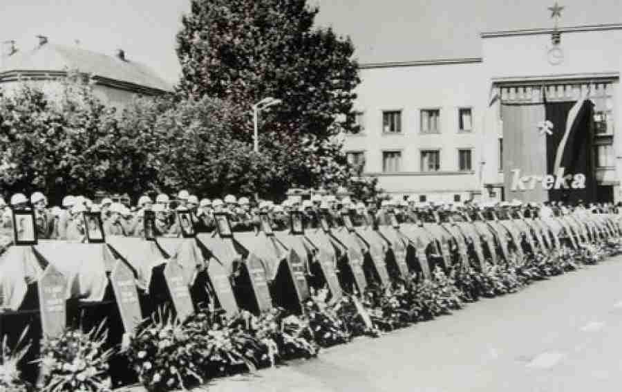GODIŠNJICA NAJVEĆE RUDARSKE NESREĆE U BiH: U rudniku Dobrnja-Mramor '90. je stradalo 180 rudara, svi koji su to veče…