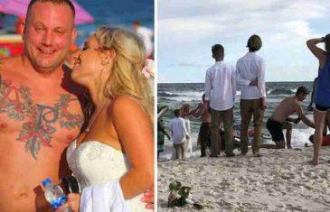 Na svom vjenčanju mladoženja je skočio u more, ali ne u želji da pobjegne! Evo šta ga je mučilo