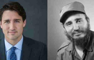 TEŠKA AFERA SA KUBE UZDRMALA KANADU – Kastrov sin pred smrt potvrdio: Kanadski premijer Trudo je Fidelov sin