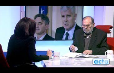 Kljuić: Čović izgubio zbog prijateljstva s Dodikom, izbor Komšića incidentna situacija