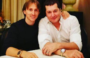 Modrić u društvu srbijanskog folk pjevača: Veliki ljudi, uvijek su veliki