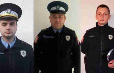 OVO SU POLICAJCI KOJI SU HEROJSKIM ČINOM SPASILI STARICU OD UTAPANJA