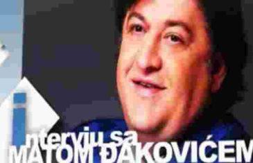 Mato Đaković prije mnogo godina: Kako su mi pomogli Dodik i Radončić? Prvi da preživim gubitak sina, a drugi…