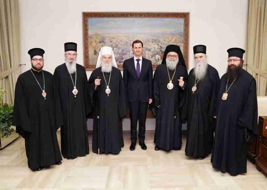 """ASAD I IRINEJ NAŠLI ZAJEDNIČKI JEZIK: """"Sirija i Srbija su bile izložene istom agresoru…"""""""