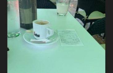 Ogorčena turistkinja: Ovako nas varaju na Jadranu, pa kafu s malo mlijeka platiš skoro 5 KM!