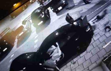 Pogledajte kako je zapaljen skupocjeni Maserati u sarajevskom naselju Alipašino Polje!
