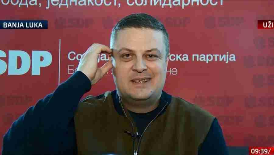 """VOJIN MIJATOVIĆ P(R)OZIVA: """"Džaferović i Komšić da dođu u Banja Luku i odavde…"""""""