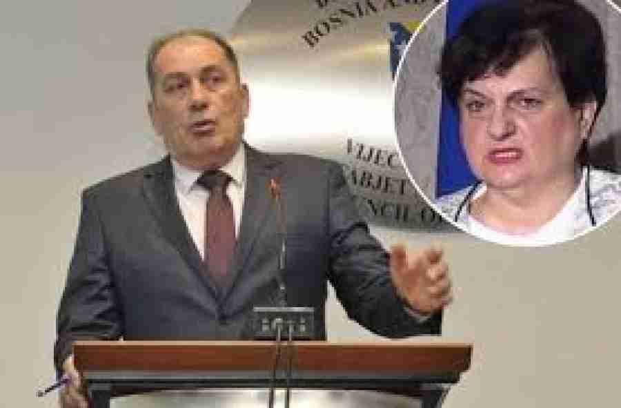 """MINISTAR MEKTIĆ OHLADIO DUŠANKU MAJKIĆ: """"Ćuti, nakarado jedna, postala si jedna od najbogatijih žena u…"""