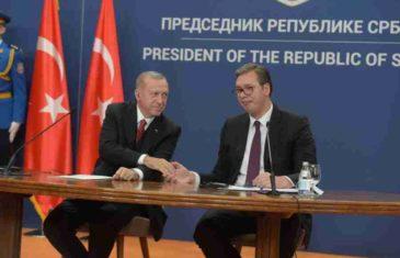 """VUČIĆ PRED ERDOGANOM: """"Mi nismo bliži Turcima nego što su to Priština i Sarajevo, samo ne želimo… """""""
