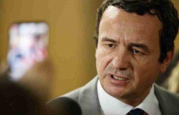 HLADAN TUŠ ZA VUČIĆA: Kurti obećao da će Srbiji ukinuti takse, ali će tražiti nešto mnogo gore…