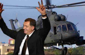 """PROCURILI DOKAZI NAJNOVIJE DODIKOVE IGRANKE: """"Helikopteri Rusije"""" jedini nude letjelice MUP-u Republike Srpske…"""