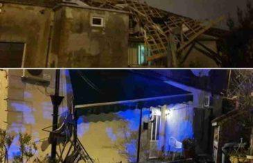 DRAMATIČNI PRIZORI S JADRANA: Pijavica poharala Rijeku, nosila krovove kuća, uništavala automobile… (FOTO)