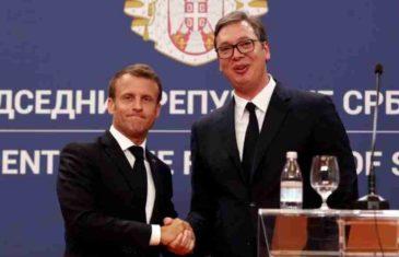 """DA LI NAS FRANCUSKA GURA U NOVU JUGOSLAVIJU? Zašto Macron podržava Vučićev državni projekt """"Malog Schengena"""""""
