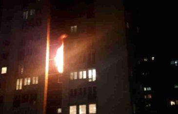 POŽAR NA GRBAVICI; ZGRADA GORI: Na terenu su vatrogasci, uspjeli su… Ima i povrijeđenih