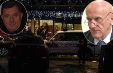 MILE, PAZI METAK: Milorad Dodik sinoć boravio u hotelu ispred kojeg je ranjen Davidović, snajpersku pušku pronašli u…