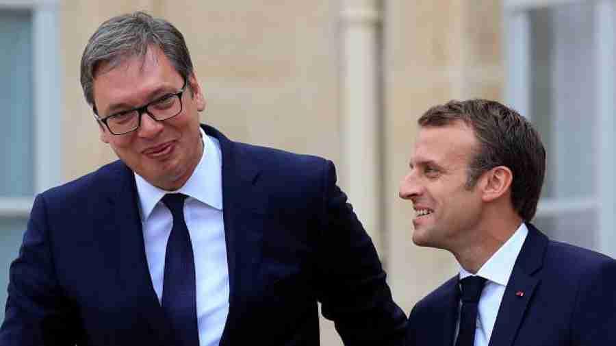 """IZDALI GA PRIJATELJI, IZDAO GA BRAT: Macron u Evropskoj uniji """"udario"""" nezapamćeni ŠAMAR Vučićevoj Srbiji…"""