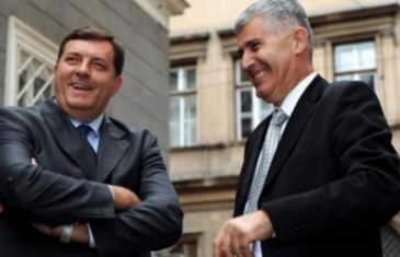 Otkad su se Dodik i Čović 'spojili' u vlasti, bilo je pitanje dana kada će zajedno krenuti u blokadu!