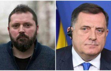 """DRAGAN BURSAĆ POSLAO ORIGINALNU PORUKU DODIKU: """"Kad god su Srbi jednostrano formirali svoje državne organe van Srbije, završili su u…"""""""