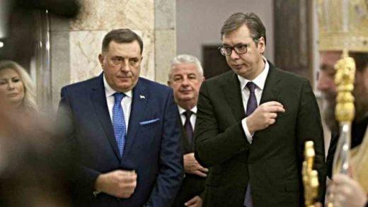 """UGLEDNI NJEMAČKI MEDIJI DONOSE DETALJNU ANALIZU O """"OTCJEPLJENJU RS"""": Vučić se ne ograđuje od Dodika, a šta to znači za regiju…"""