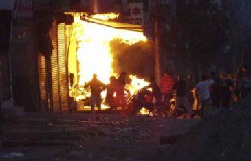 UŽASNI SNIMCI OBIŠLI SVIJET: U brutalnom napadu zapaljena džamija, pogledajte kako rulja zlostavlja muslimane… (UZNEMIRUJUĆI SADRŽAJ)