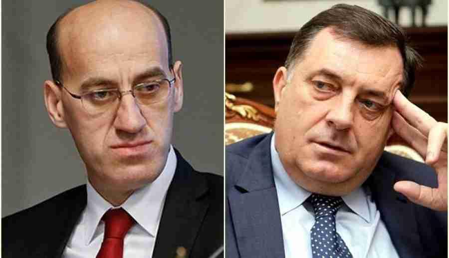 """RAMIZ SALKIĆ, POTPREDSJEDNIK RS: """"Milorad Dodik je posljednji koji ima moralno pravo pozvati nekoga da se…"""