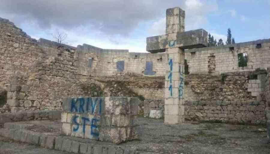 HDZ U MUKAMA: Federalna inspekcija naredila uklanjanje križeva u Stocu