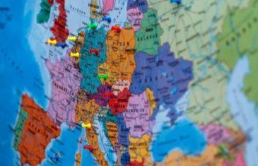 SRPSKI MEDIJI PJENE: Danska objavila kartu na kojoj umjesto Srbije piše Kosovo!