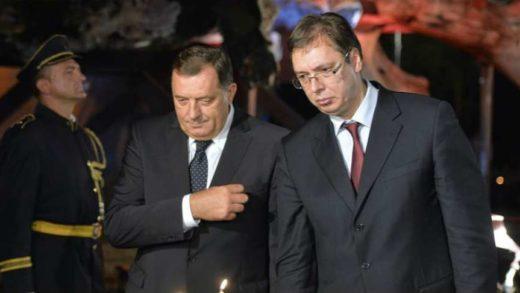 DA LI GA JE IMALO STID?: Šta je Milorad Dodik zaboravio da kaže predsjedniku Srbije?!