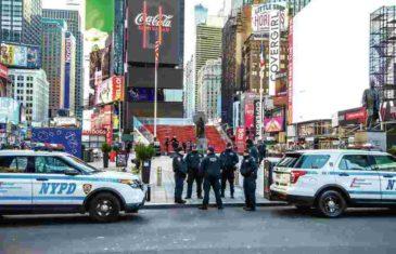 VIŠE OD 100.000 INFICIRANIH U SJEDINJENIM DRŽAVAMA: U Njujorku pozitivno više od 500 policajaca